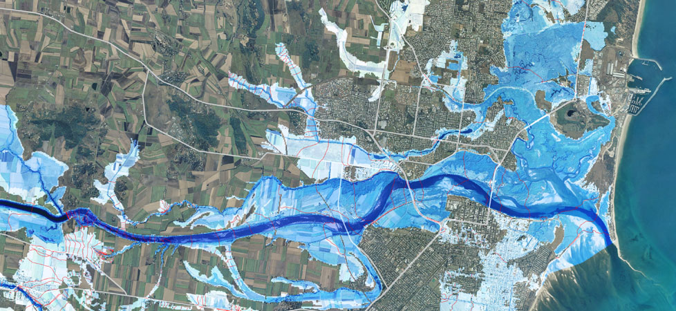 Map of Mackay floodplain