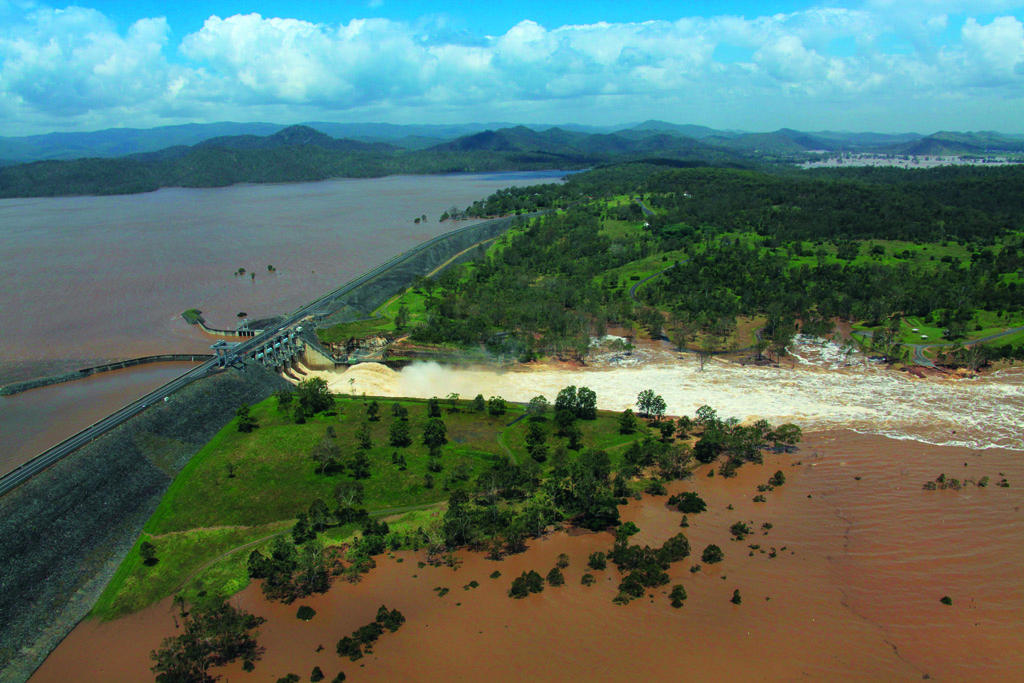 WRM Water & Environment | Wivenhoe Dam Spillway Upgrade Alliance